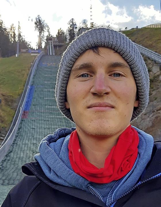 Lange am Limit und jetzt nur noch Fußgänger: Julian Ketterer von der SZ Breitnau  | Foto: Johannes Bachmann