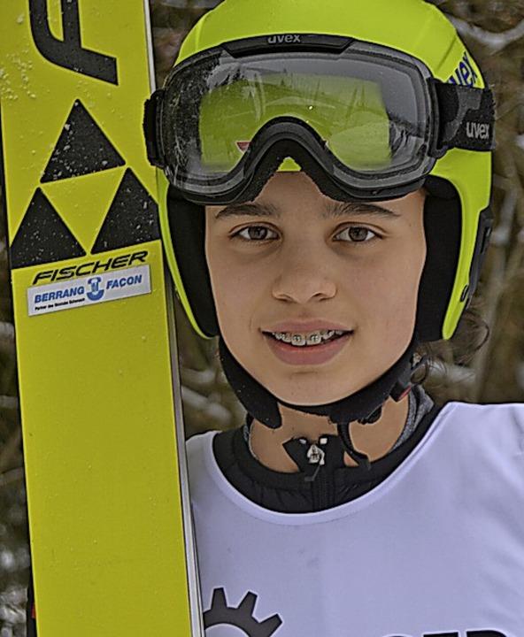 Karriereende: Anna Jäkle vom Skiteam S...Rohrhardsberg will nicht mehr abheben.  | Foto: Helmut Junkel