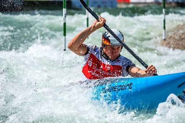 Im Wildwasser ist trotz des Olympiasieges von Ricarda Funk kein Hype zu erwarten