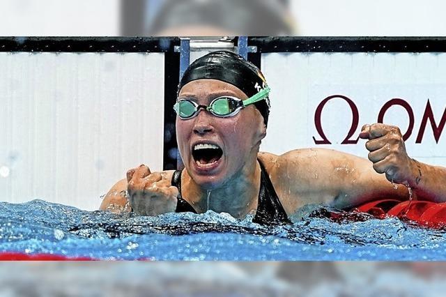 Schwimmer feiern Ende der Olympia-Tristesse