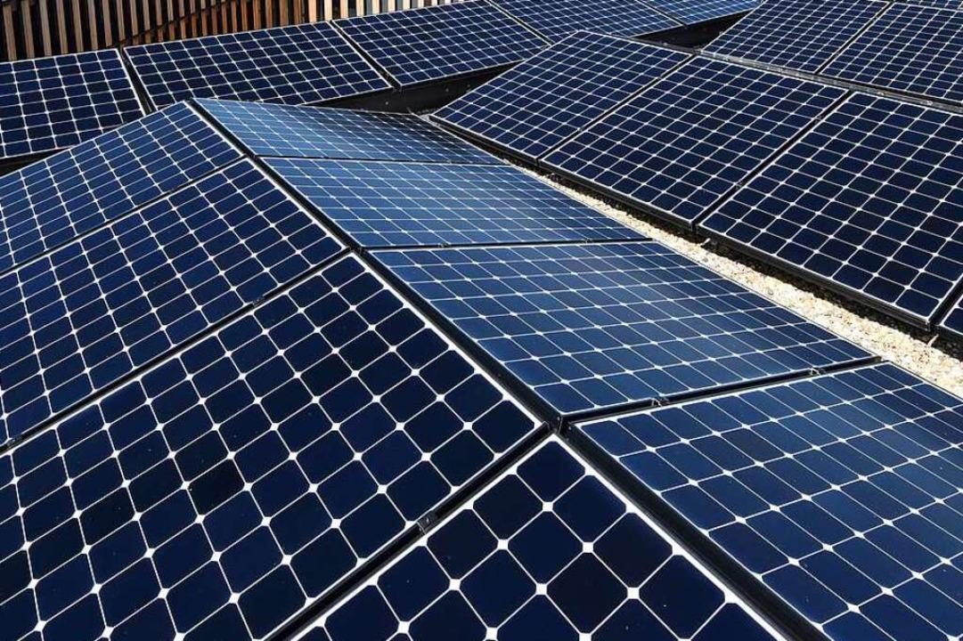 Photovoltaik wird bei der Stromversorg...ietenbach eine zentrale Rolle spielen.    Foto: Rita Eggstein