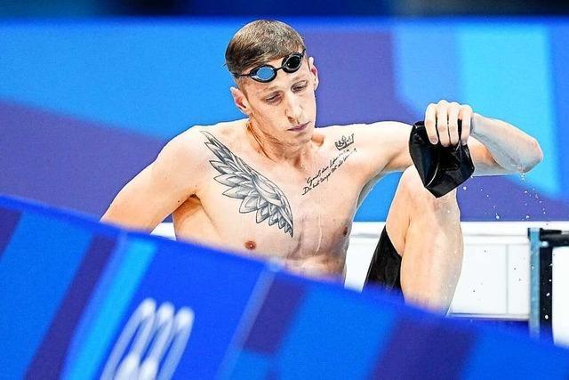 Schwimmer Wellbrock verpasst erhoffte Olympia-Medaille knapp