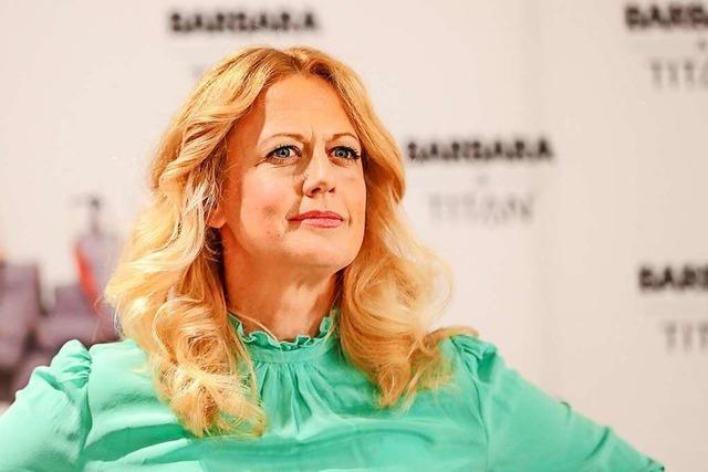 Barbara Schönebergers Präsenz in den Medien ist heute unübersehbar