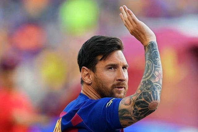 FC Barcelona trainiert ohne Messi in Donaueschingen
