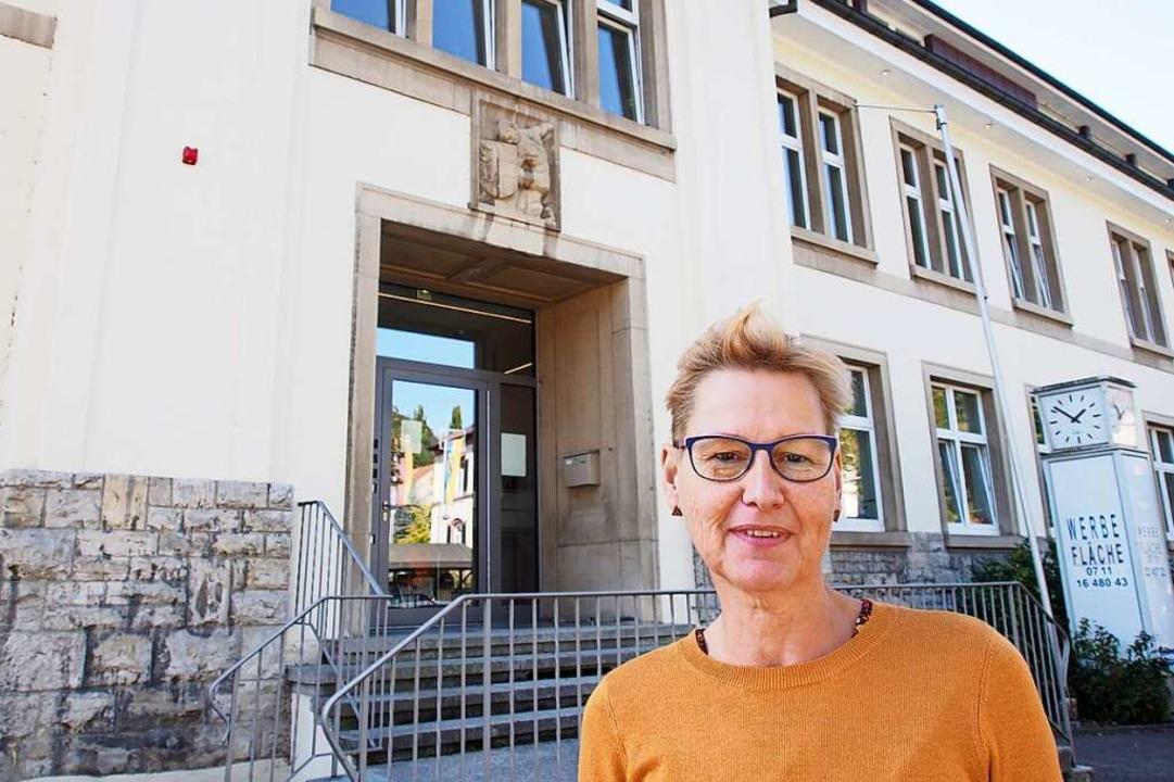 Elke Schemenauer leitet den 2015 eröff...entschieden, diesen Namen zu behalten.  | Foto: Boris Burkhardt