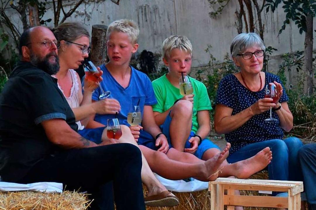 Schon 2020 hatten die Gäste ihren Spaß.  | Foto: Andrea Steinhart