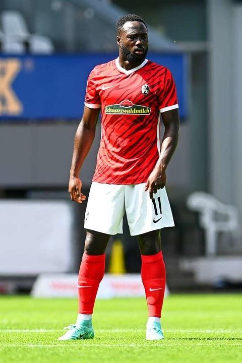 Der Mainzer Neuzugang Raphael Assibey-...immer besser zurecht beim SC Freiburg.  | Foto: SC Freiburg/Achim Keller