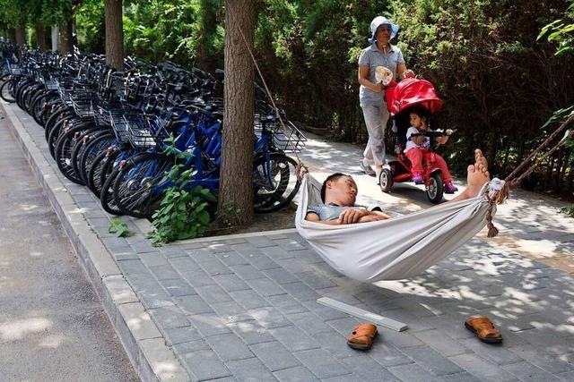 Junge Chinesen entdecken das Ausspannen, die Partei sieht das gar nicht gerne