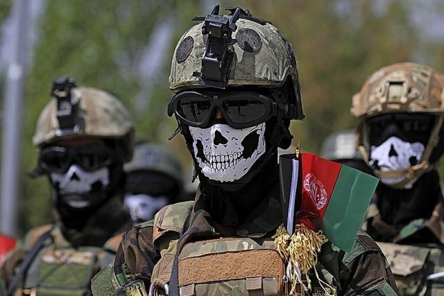 Nato-Training für Afghanen startet