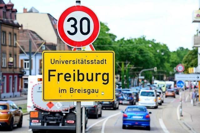 Bei Geschwindigkeitsregeln ist Freiburg ein Flickenteppich – noch