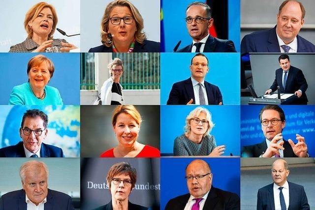 Die Abschlusszeugnisse für Angela Merkels Kabinett