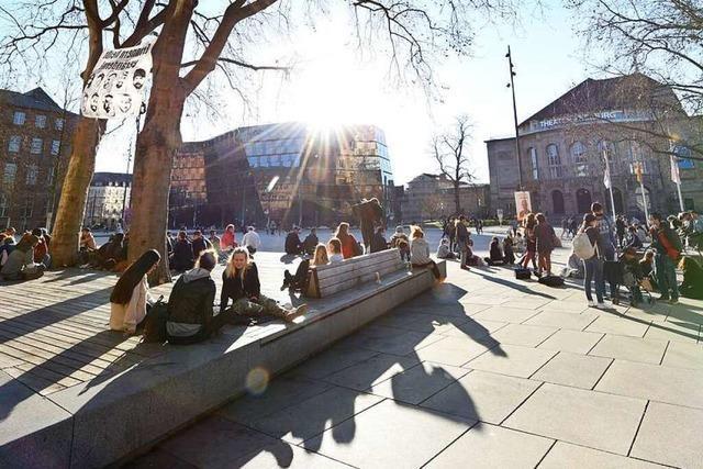 Freiburg impft bald auf dem Platz der Alten Synagoge