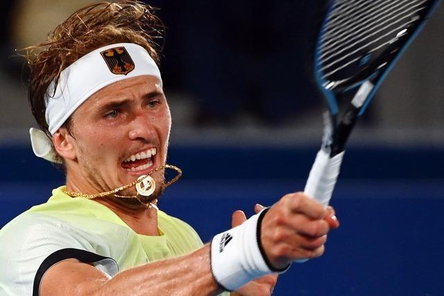 Zverev nach Sieg über Djokovic im Olympia-Finale