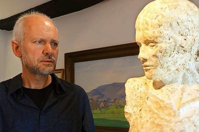 Johannes Beyerle ist ein Künstler, der in Malsburg-Marzell Künste vereint