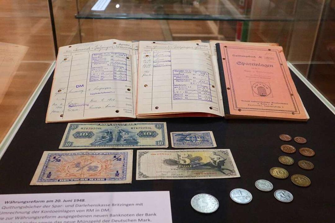 Die Währungsreform 1948 legte den Grun...aftlichen Wiederaufstieg Deutschlands.  | Foto: Alexander Huber