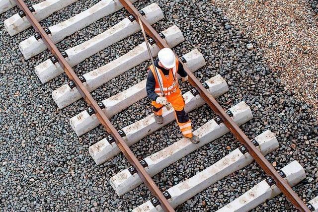Trotz Großbaustelle an der Rheintalbahn sollen Regionalzüge fahren