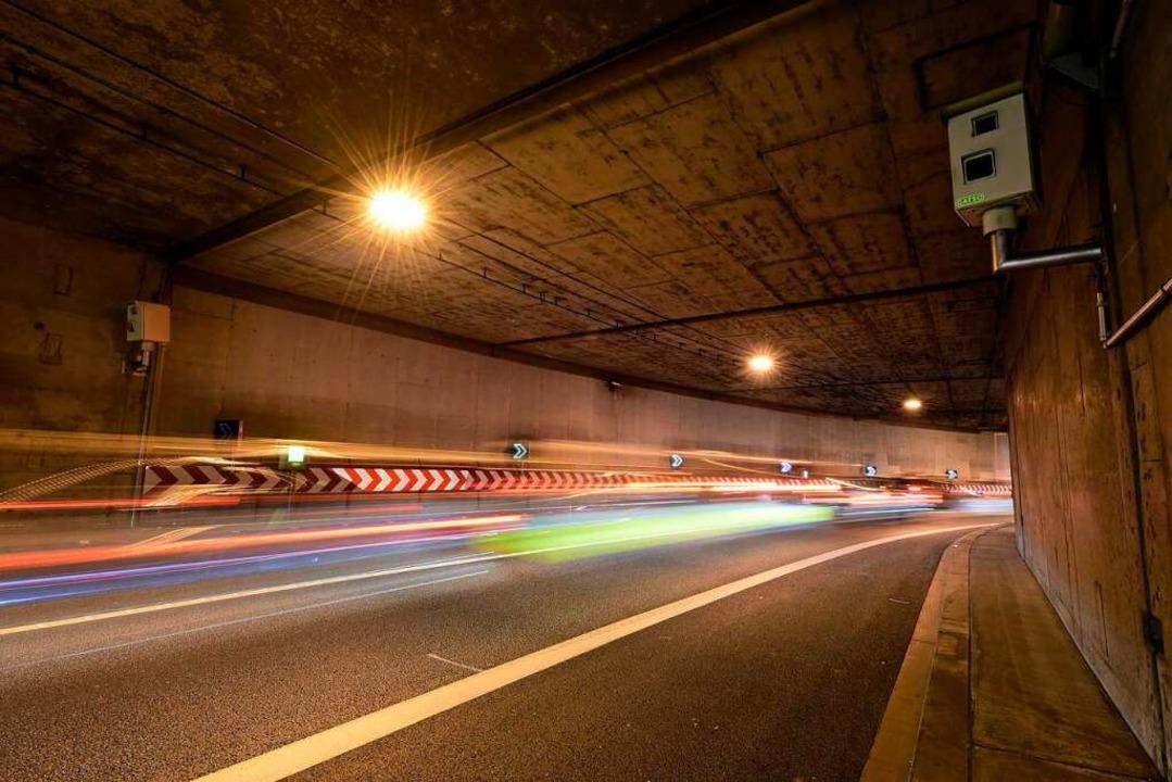 Ab Montag sind die Tunnel der Freiburg...chselnd für diverse Arbeiten gesperrt.    Foto: Thomas Kunz