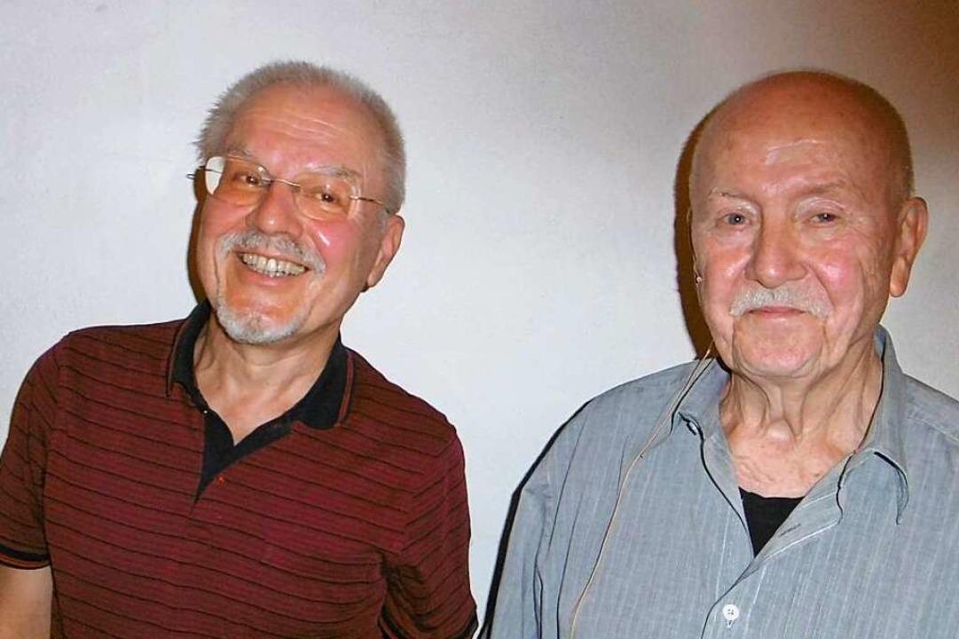 Der neue Bürgervereins-Vorsitzende Fol... (links) und Vorgänger Dieter Dormeier    Foto: Anja Bochtler