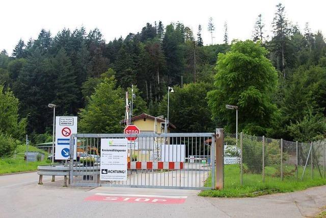 Kreismülldeponie Scheinberg wird erst von 2025 an erweitert