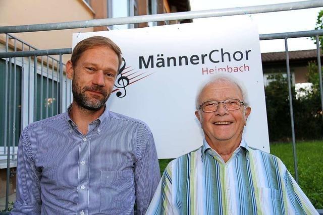 Warum beim Männerchor Heimbach seit 150-plus-1-Jahren erfolgreich gesungen wird