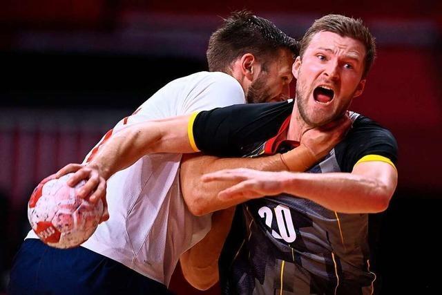 Große Zuversicht bei deutschen Handballern vor Gruppenfinale gegen Brasilien