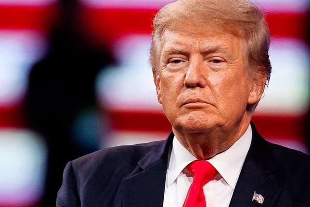 US-Finanzministerium muss Trumps Steuererklärungen an Kongress aushändigen