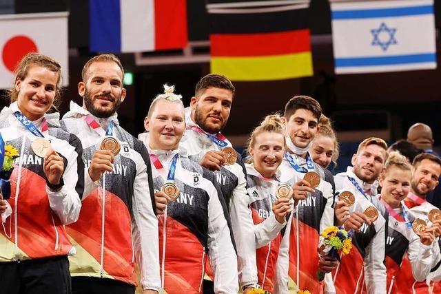Deutsches Judo-Team holt Mixed-Bronze