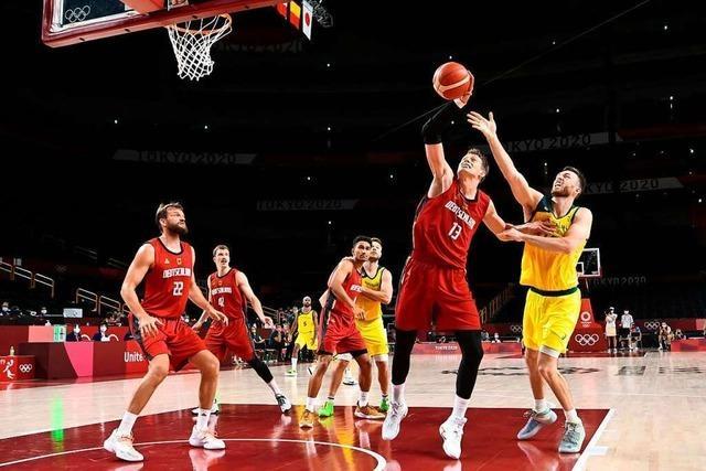 Deutsche Basketballer trotz Niederlage im Olympia-Viertelfinale