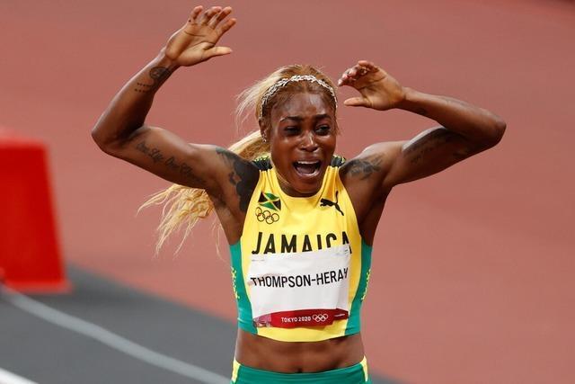 Jamaikanerin Thompson-Herah gewinnt Gold im 100-Meter-Finale