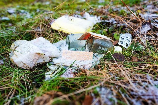 Schwarzwaldverein wirbt fürs Mitnehmen von Abfallsäcken zum Aufräumen