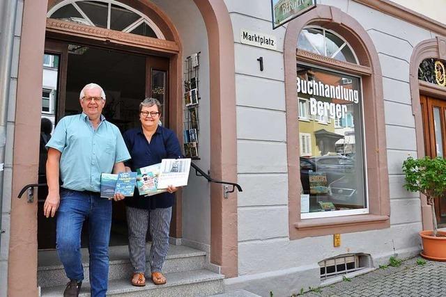 Für die Buchhandlung Berger in Kandern wird ein Nachfolger gesucht