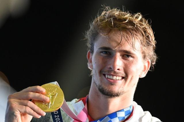 Alexander Zverev gewinnt Olympia-Goldmedaille im Tennis