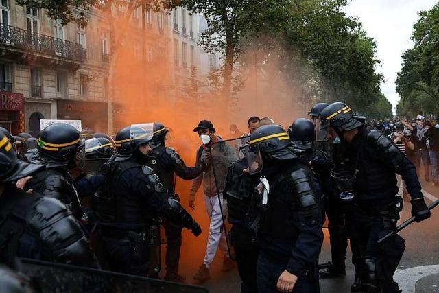 Corona-Proteste in Frankreich: Neue Gefahr für Macron?
