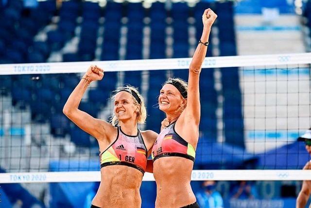 Laura Ludwig und Margareta Kozuch stehen im Beachvolleyball-Viertelfinale