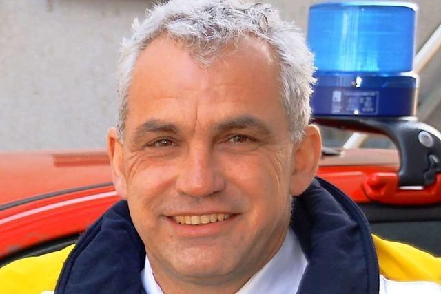 Offenburgs Feuerwehrkommandant Peter Schwinn hilft im Flutgebiet