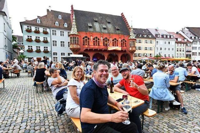 Freiburger Weinsommer: Ein Fest (fast) wie zu alten Zeiten