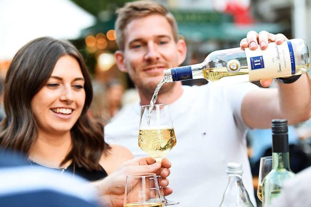 Besonders gut angekommen bei den Gästen sind leichte Sommerweine.  | Foto: Rita Eggstein