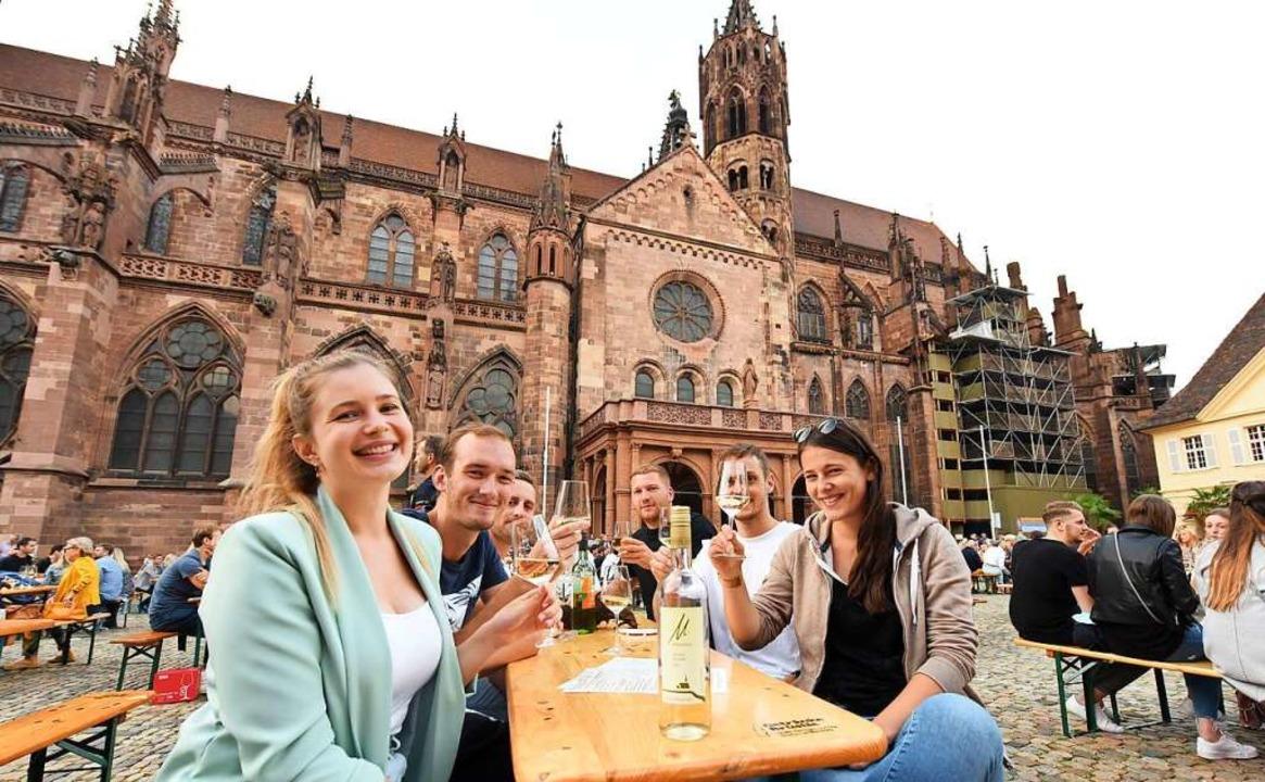 Viel junges Publikum hat den Weinsommer genossen.  | Foto: Rita Eggstein