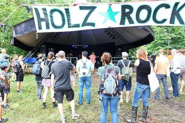 Entspannte Stimmung beim Holzrock-Festival in Schopfheim