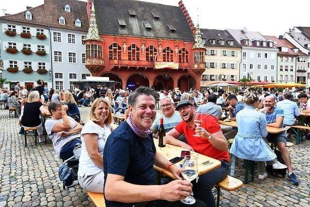 Freiburger Weinsommer am Samstagabend