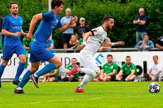 FC 08 Villingen erteilt dem Landesligisten FC Neustadt eine 6:0-Lektion