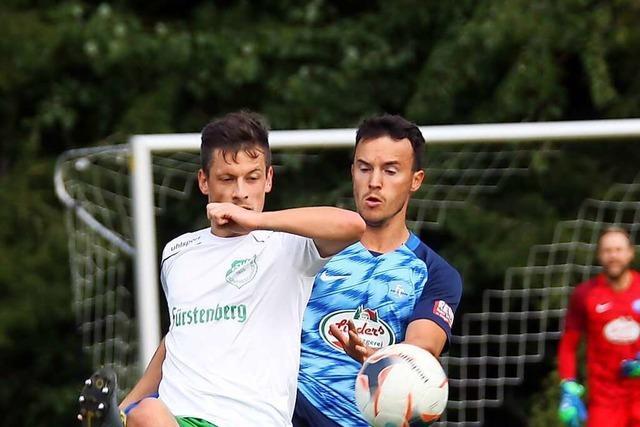DJK Donaueschingen zerlegt den FC Schonach