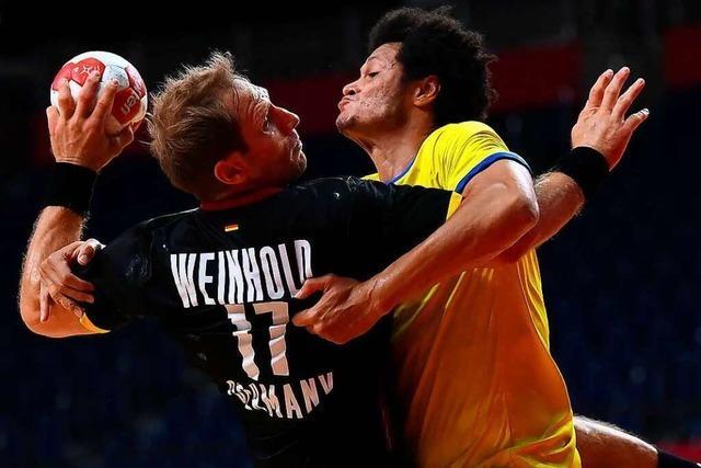 Der Medaillentraum der deutschen Handballer lebt