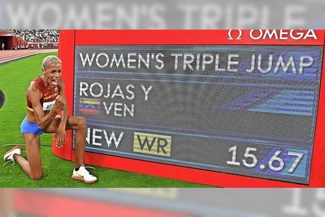 Yulimar Rojas übertrumpft Weltrekord von 1995