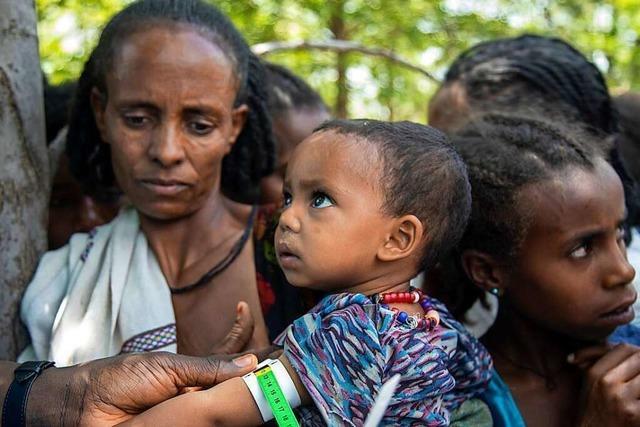 In Tigray sind mehr als 100.000 Kinder vom Hungertod bedroht