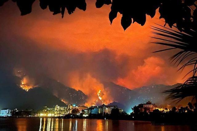 In vielen Urlaubsländern toben heftige Brände