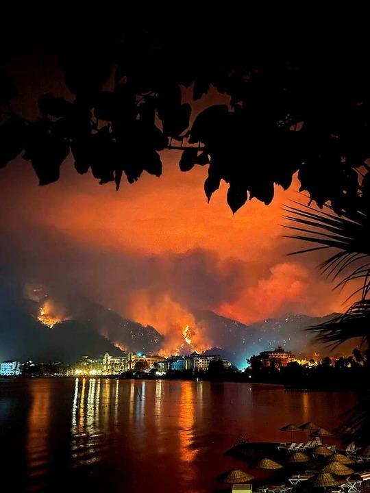 Brände in der Stadt Marmaris an der türkischen Riviera  | Foto: Alina Kvasha via www.imago-images.de