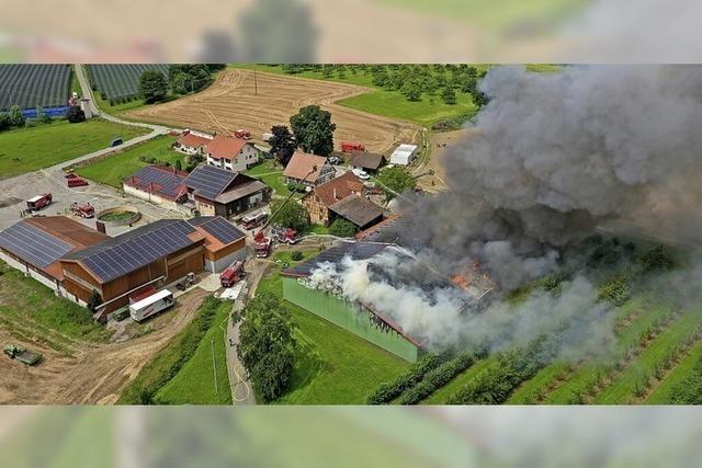 Millionenschäden durch Brände