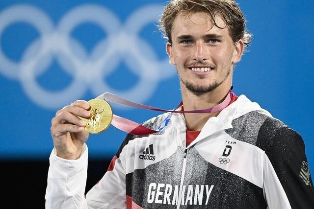Alexander Zverev ist Tennis-Olympiasieger