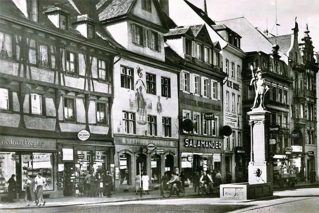 Salamander-Schuhe gibt's seit 1910 in Freiburg